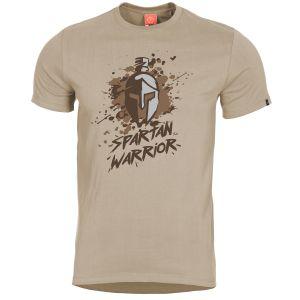Pentagon Ageron Spartan Warrior T-Shirt Khaki