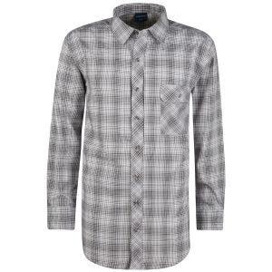 Propper Covert Button-Up Long Sleeve Shirt Steel Grey Plaid