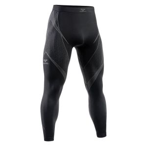 Tervel Optiline Long Bottoms Black/Grey