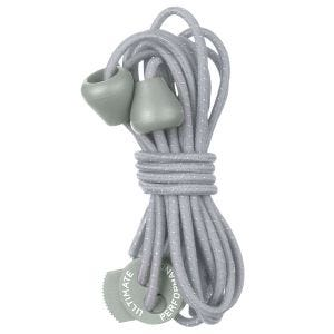 Ultimate Performance Reflective Elastic Laces Silver Grey