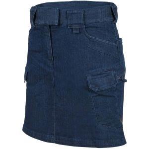 Helikon Women's Urban Tactical Skirt Denim Mid Dark Blue
